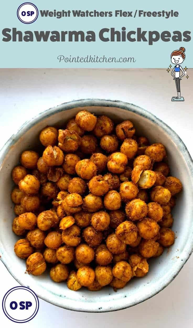These easy, tasty, roasted chickpeas are Zero points on Weight Watchers Freestyl…   – Weight Watchers Snacks