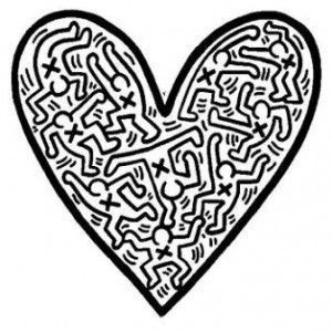 Coloriage Keith Haring 10