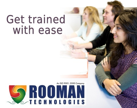 Rooman Technologies has the environment most conducive to enable you to get IT trained with ease!