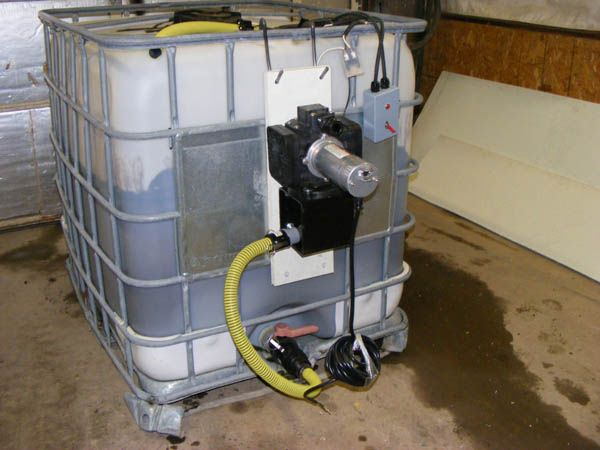 Poly Tote Agitation Skid Mounted Spray Systems Potassium Acetate Ice Dust Control