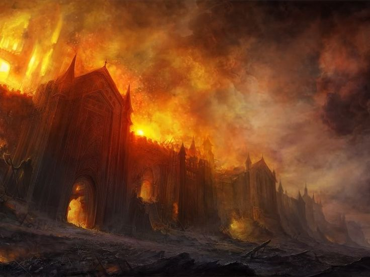 The Burning destroys most of the East Side of Elysian, including the Avernell's manor, which is reduced to ash.