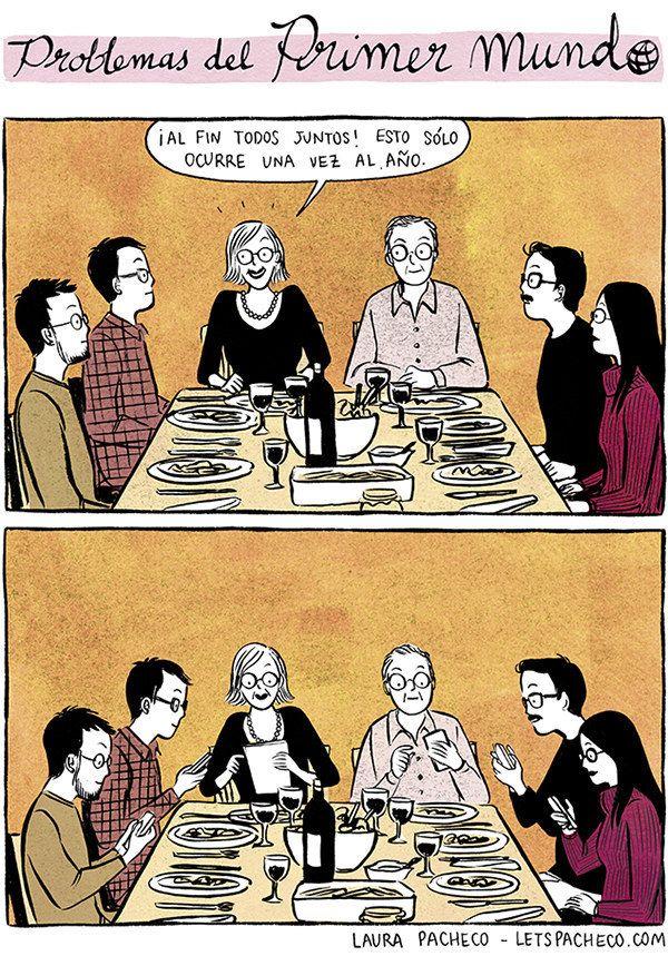 Estas tiras cómicas recrean los mejores problemas del primer mundo