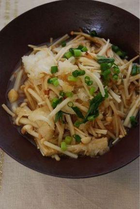 えのきとおろしの柚子ごま油煮 by 庄司いずみ   レシピサイト「Nadia   ナディア」プロの料理を無料で検索