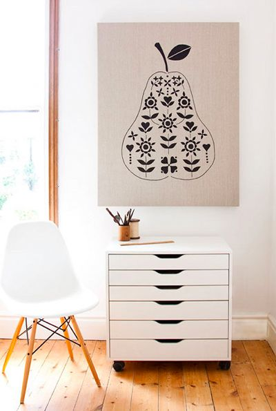 The Modern Family Home: Black and White Art | Dotcoms for Moms