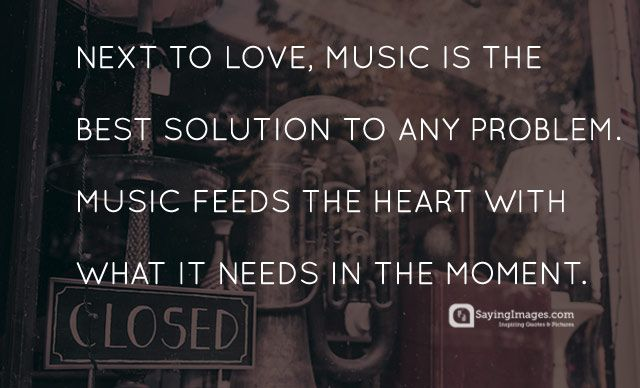 Collection - 25+ Powerful Music Quotes To Feed Your Soul  #Music http://sayingimages.com/music-quotes/