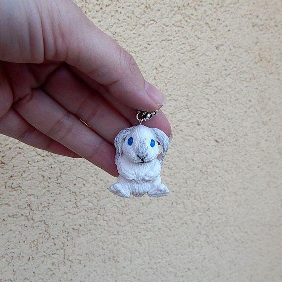 Rabbit Pendant Rabbit Jewelry Bunny Jewelry Rabbit от ViaLatteaArt