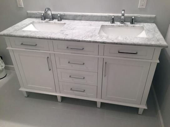 Home Decorators Collection Sonoma 60 In Double Vanity In