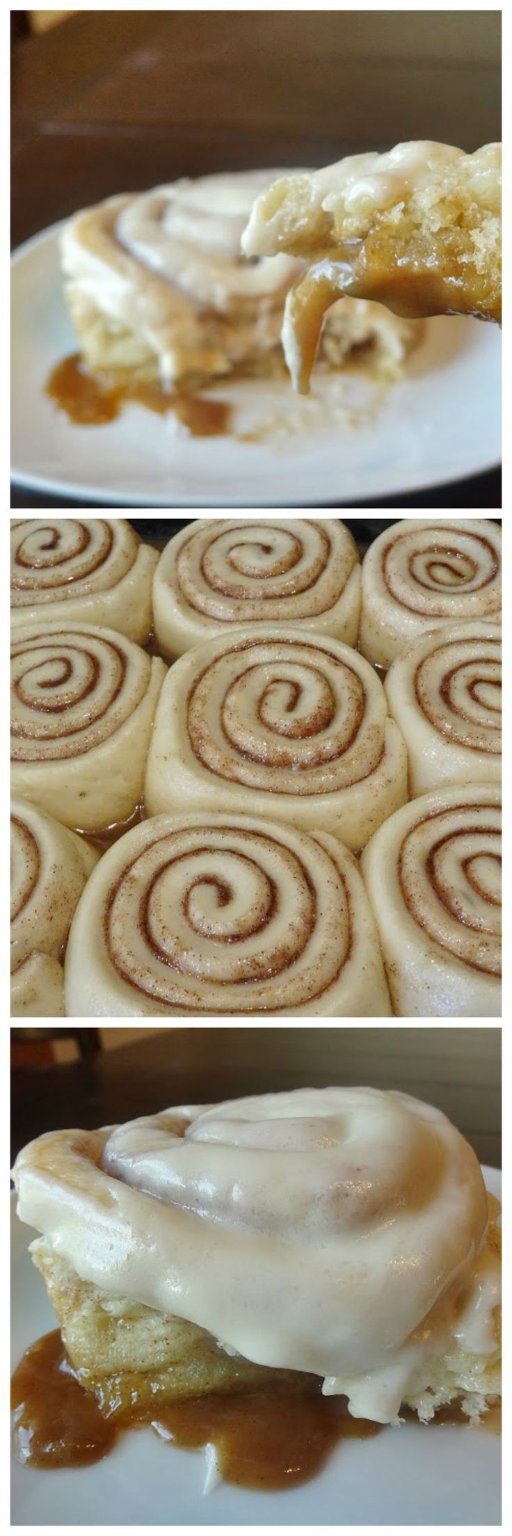 THE best Cinnamon Rolls in an Ice Cream Caramel Sauce. Get ready to throw out your favorite recipe and try these!