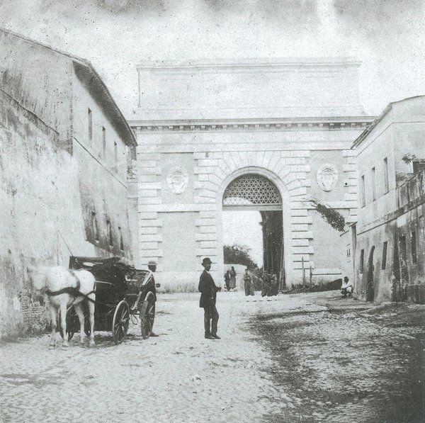Porta San Pancrazio (1860)