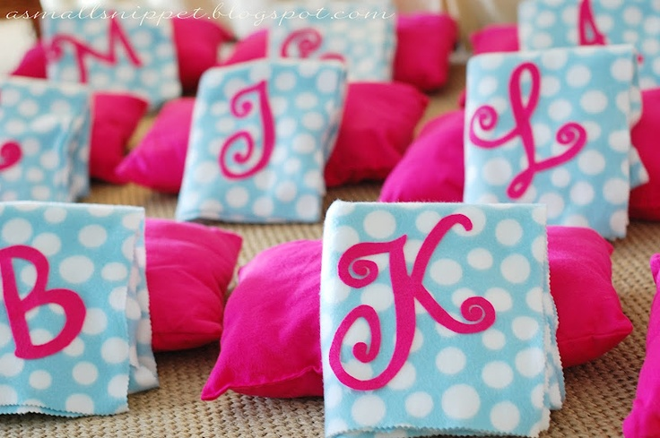 sleepover party favors  ideal para pijama party