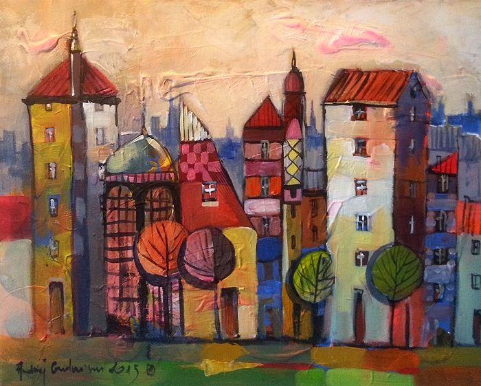 Magic City 20x16 Offer To 21/01/2015 by Andrzej Gudanski on ArtClick.ie