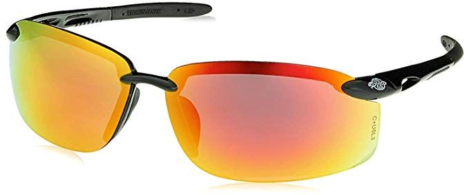 fa49f4f2d3 Crossfire Eyewear 12620 W ES5-W Safety Glasses with Black Temples and Red  Mirror Lens (6 Pack) Review