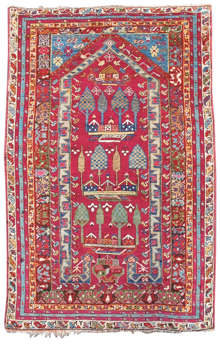Kirshehir Prayer Rug, 19th C (4th Q)