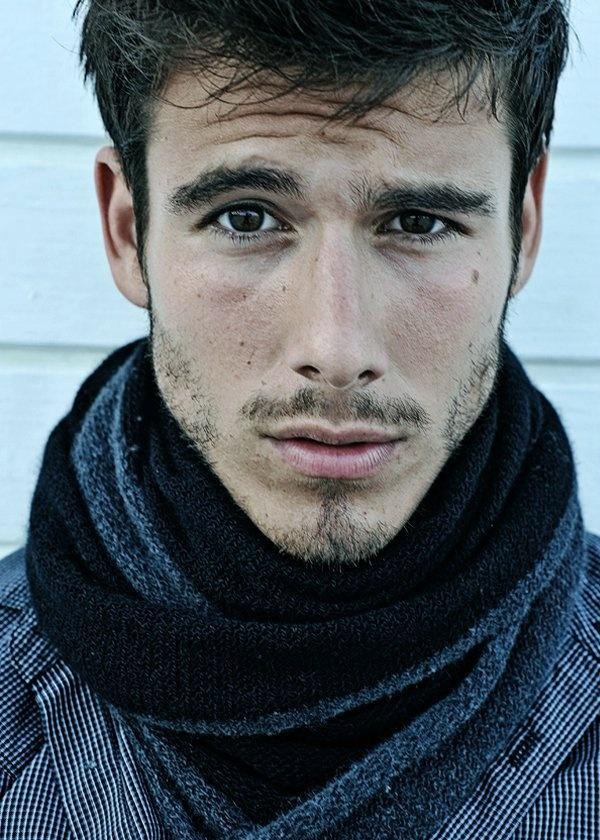 Lucas Bernardini. Brazilian model.