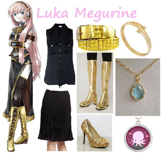 luka megurine casual cosplay outfit
