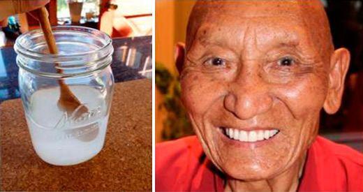 rimedio tibetano denti bianchi