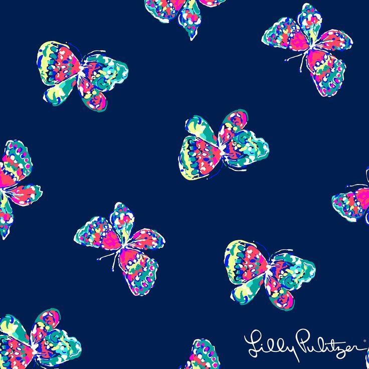 "Lilly Pulitzer Fall '13- I've Got Butterflies    ❥""Hobby&Decor ""   instagram.com/hobbydecor    decor   interiordesign   arquitetura   art   #home"