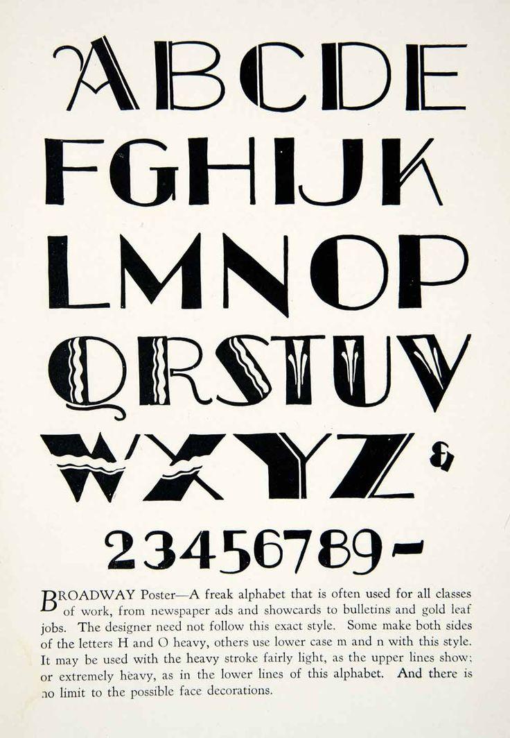 broadway font free - Google Search