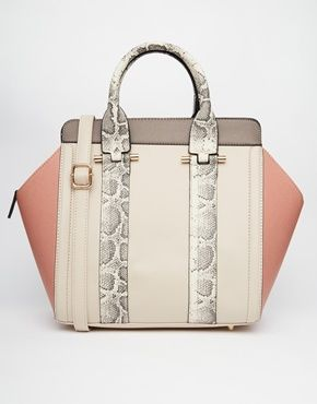 New+Look+Tote+Bag+with+Faux+Snake+Print+Trim