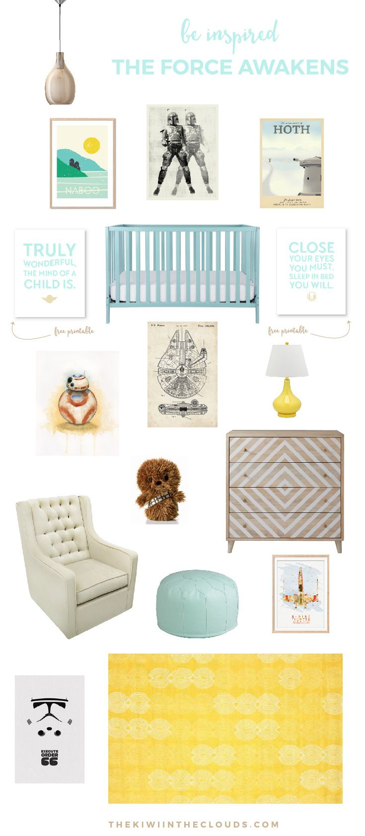 Top tips for making a baby s nursery special - Star Wars Nursery The Force Awakens Have You Caught The Star Wars Fever And