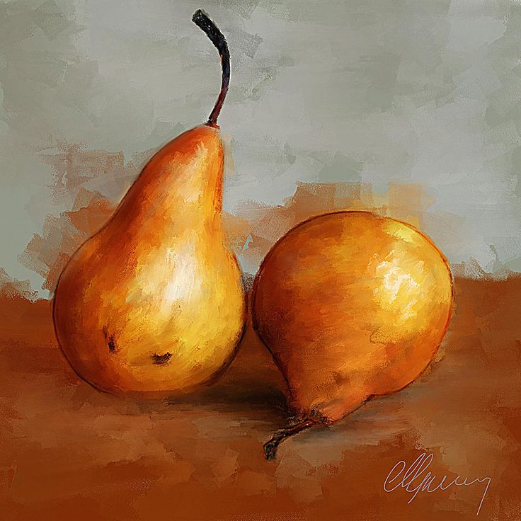 still life paintings | Still Life Painting by Michael Greenaway - Pears Still Life Fine Art ...