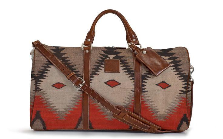 Barrington Gifts- The-Belmont-Cabin-Bag-Navajo-Mesa