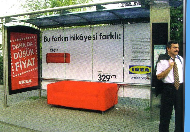 IKEA; Furniture; Advertising; Publicidad; Creatividad; Street Marketing