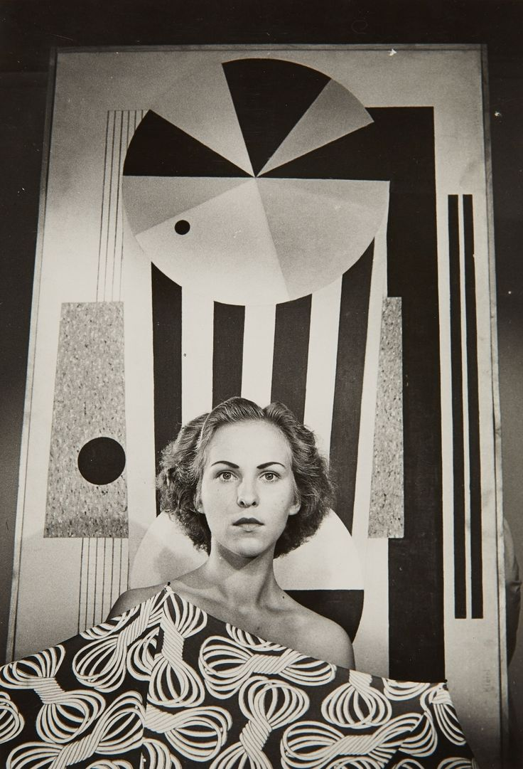 Otto Steinert - Untitled (Drama Student), ca. 1950. ☚