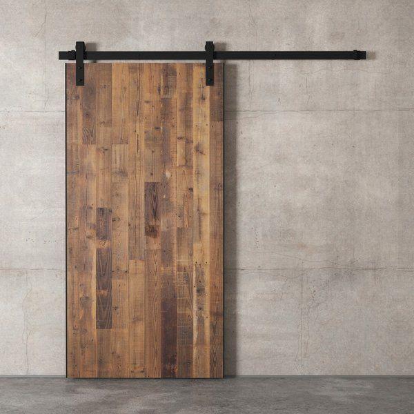 Reclaimed Wood Payton Barn Door With Installation Hardware Kit Wood Barn Door Interior Barn Doors Wood Doors