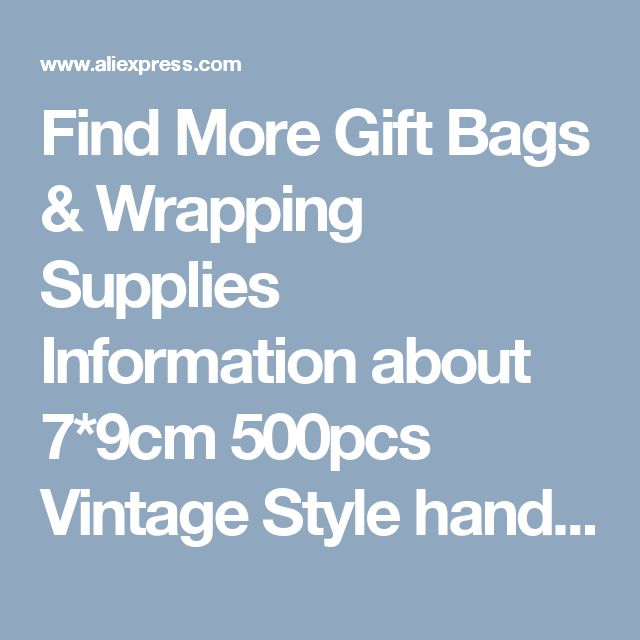 Find More Gift Bags & Wrapping Supplies Information about 7*9cm 500pcs Vintage Style handmade Jute Sacks Drawstring gift bags for jewelry/wedding/christmas Packaging Linen pouch Bags,High Quality gift bag handle,China gift bags food Suppliers, Cheap bag louis from Fashion MY life on Aliexpress.com