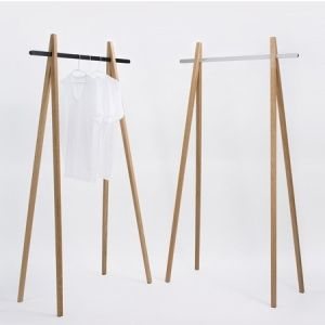 Simple, lovely clothing rack. by guida
