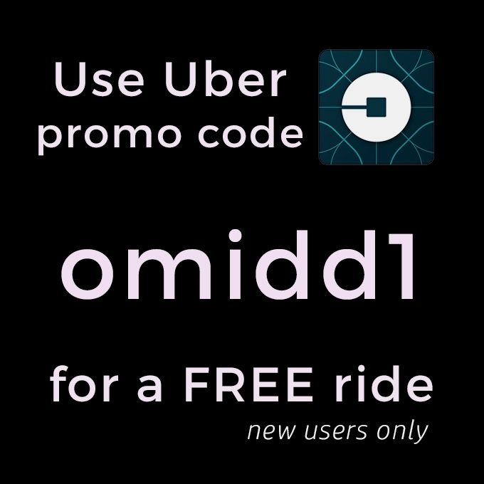 Get your first Uber ride for FREE! Add promo code omidd1 in the app under the promotions tab.  #freebies #free #giveaway #rideshare #freebie #deal #deals #promocode #promo #couponing #couponcommunity #coupon #couponcode #coupons #couponnewbie #coupon101 #uber #ubereverywhere #uberpromocode #uberpromo #ubercode #uberla #ubernyc #ubercodes