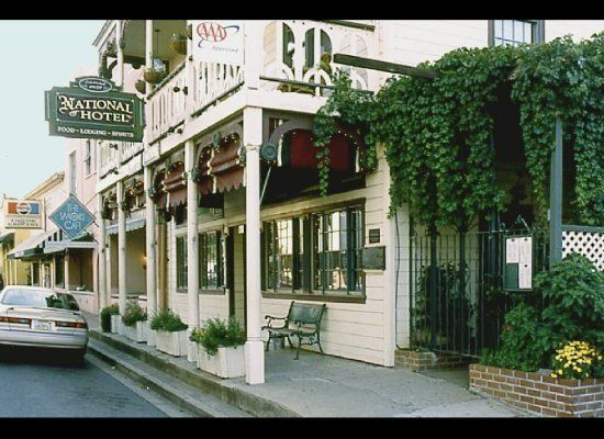 1859 Historic National Hotel, Jamestown California.  For more hotel hauntings, see Dixie Spirits: http://www.sourcebooks.com/store/dixie-spirits.html