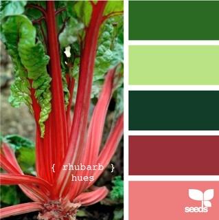 rhubarb hues palette: Colors Combos, Living Rooms, Colors Combinations, Colors Palettes, Colors Schemes, Rhubarb Hue, Rooms Colors, Colour Palette, Colour Schemes