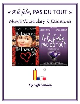 """$ Watch the film """"A la folie, pas du tout""""/""""He Loves Me, He Loves Me Not"""" in your French class!"""