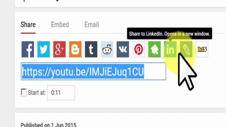 Tutorial Jitu Super Cepat Share YouTube  dengan Media Sosial