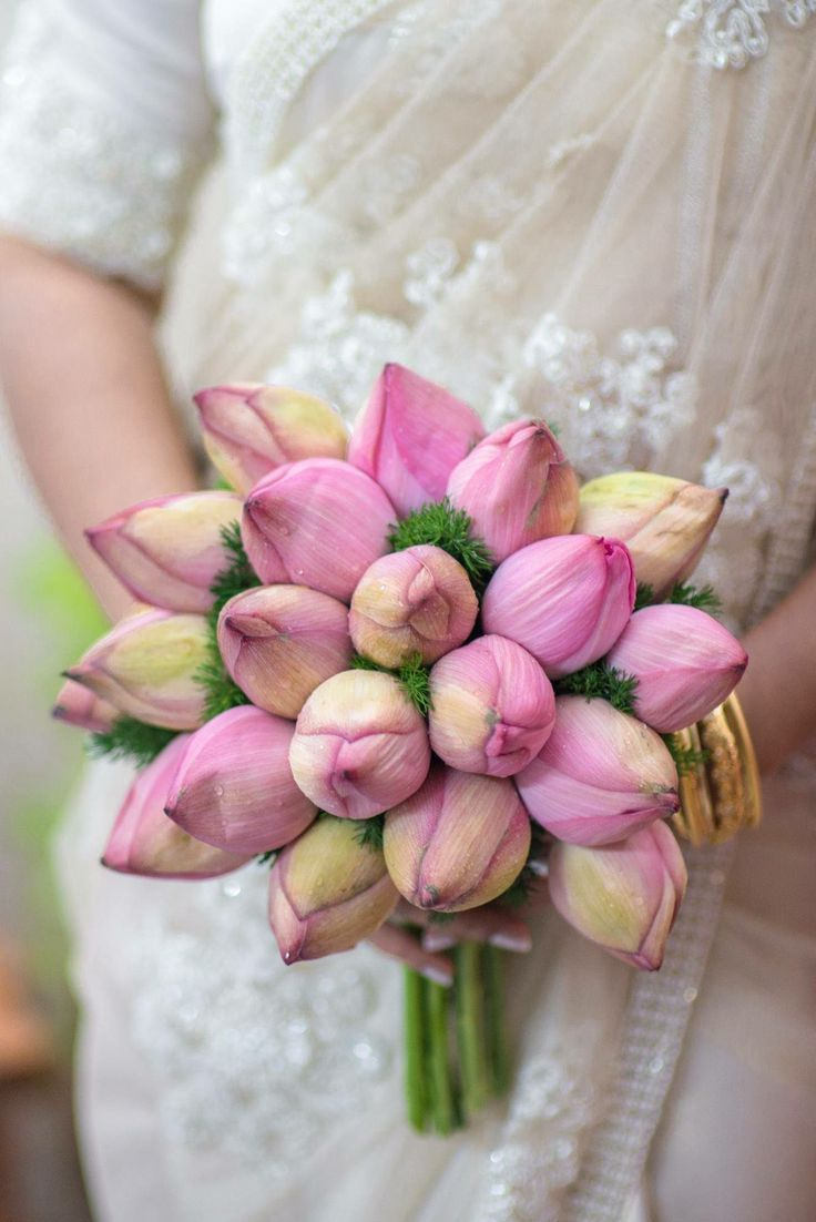 Image Result For Lotus Flower Wedding Bouquet Weddingbouquets