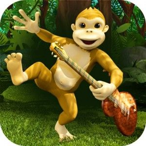 Gorilla Band 3D story book with music – Wasabi Productions