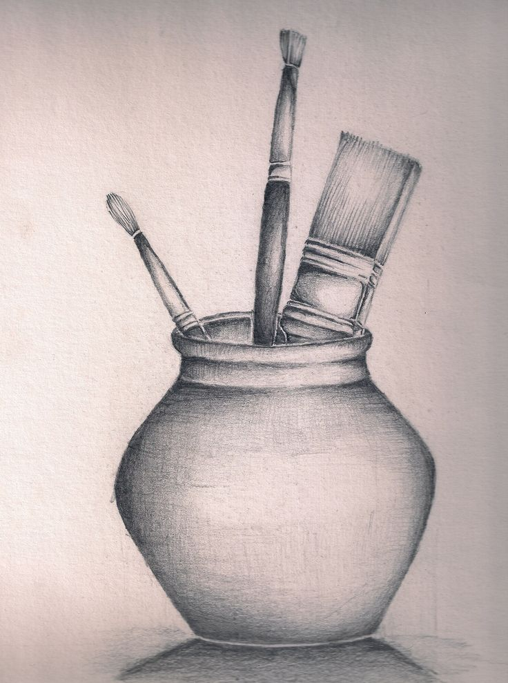 Easy Drawings Of Flowers In Pencil Still life drawings by...