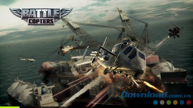 Tải Game Battle Copters cho iOS Cho IOS| HDgame