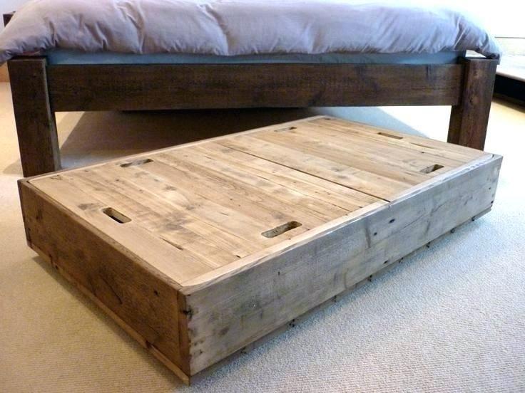 Rolling Underbed Storage Drawers Shelf Homz With Chalkboard Bed