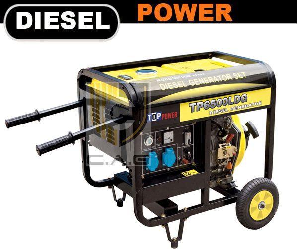 Luxy Series 5kw Portable Diesel Generator