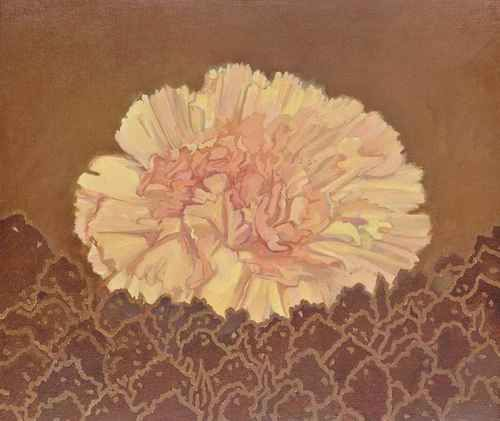 Edward Middleditch (British, 1923-1987), Flower painting. Oil on...