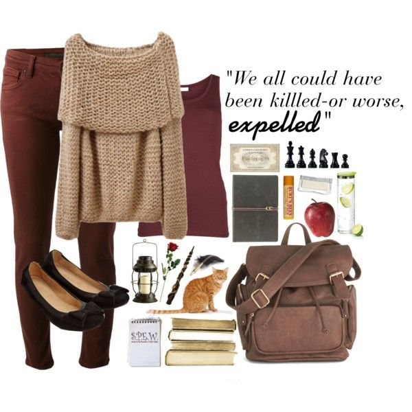 """""""Hermione Granger Style"""" by ejdonnelly53 on Polyvore"""
