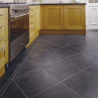 Strip Wax Buildup From Floors. Vinyl Flooring KitchenKitchen ...