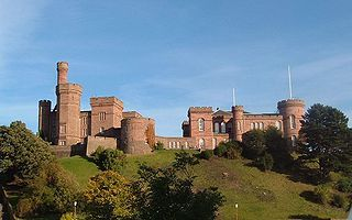 Inverness Castle - After clashing with Clan MacKenzie during the Raid on Ross (1491), Clan MacDonald of Lochalsh, Clan MacDonald of Clanranald the Clan Cameron & the Chattan Confederation of Clan Mackintosh proceeded to Inverness where they stormed Inverness Castle and Mackintosh placed a garrison in it.  (P.S.  According to another pin just like this, this is NOT the original castle that stood on this site!)