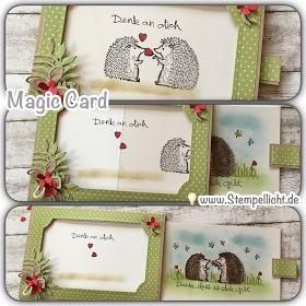Magic Card mit Love you Lots und kleine Verlosung