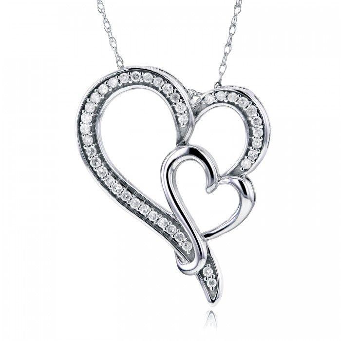 43 best Valentine\'s Day images on Pinterest   Heart pendants, In k ...