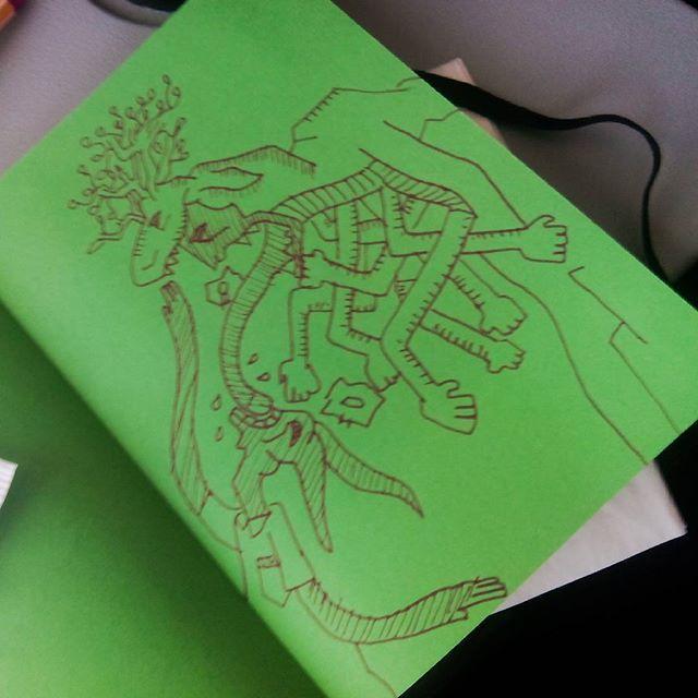 Dr-w-ng #dibujo #drawing on the air