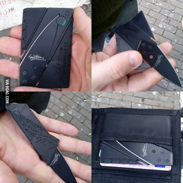 creditcard knife